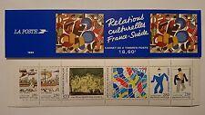 2 carnets de timbres (Relations culturelles France 🇫🇷 Suède 🇸🇪 1994