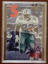 1996 EMMITT SMITH CLASSIC CLEAR ASSETS $5 SPRINT PHONE CARD! (NOT SCRATCHED!) MT