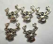 20pcs Tibetan silver sheep charm pendant 22x25mm