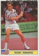 N°130 RICHEY RENEBERG USA PANINI TENNIS ATP TOUR 1992 STICKER VIGNETTE