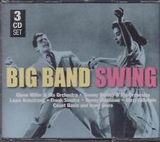 BIG BAND SWING - VARIOUS ARTISTS on 3 CD's -  NEW -