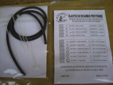 2 x STONFO Ricambio Catapulta ELASTICI, NERO. valutato xtrapower per lungo raggio.