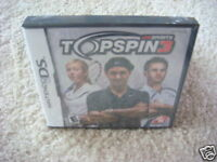 Top Spin 3 (Nintendo DS) DSI NEW