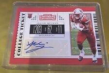 2019 Panini Contenders College Ticket Jakobi Meyers Rc Auto Sp