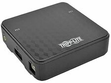 Tripp Lite 2-Port DisplayPort 1.2 KVM Switch with Audio, Cables and USB Peripher