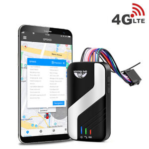 GPS 4G Car Tracker Vehicle Real Time Tracking Device ACC SOS Alarm Voice Monitor