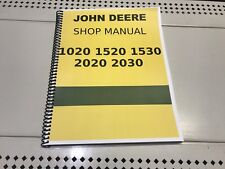 1020 John Deere Technical Service Shop Repair Manual
