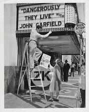 PAULETTE GODDARD Movie Theatre Poster C.B DeMille Florey Marquee Photo 1942