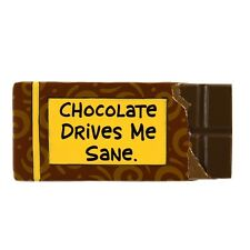Our Name is Mud ONM4020703 Sane Chocolate Fridge Magnet