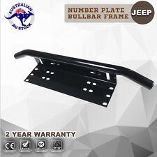 Number Plate Bull bar Frame Mounting Bracket Holder For LED Light Bar