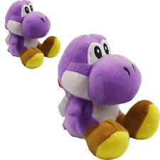 Super Mario Sitting Yoshi Dragon Soft Plush Cute Toys Stuffed Doll 7in