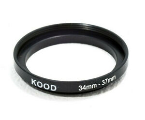 Stepping Ring 34mm - 37mm Step Up ring 34-37mm 34mm to 37mm ring