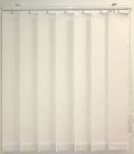 Vertikalanlage Lamellenvorhang weiß Büro Sichtschutz B/H 139 x 77 cm Sunlines