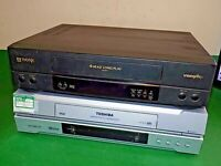 2 x Video Cassette Recorder VHS VCR Tape TOSHIBA THORN FAULTY/SPARES