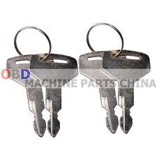 4x Keys For Takeuchi Switch Tl130 Tl150 Tb125 Tb135 Tb145 Tb175 17001 00023