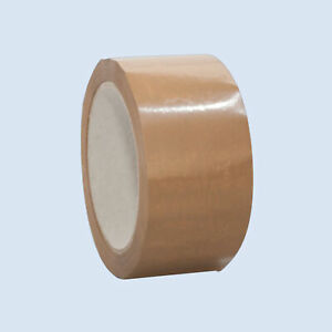 (0,03€/1m) müroll 100 PVC-Verpackungsklebeban Packband Paketband Klebeband 66m