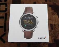 Fossil Q Explorist Gen 3 Smartwatch 46mm Stainless Steel Silver (FTW4003)