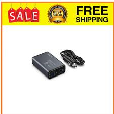 New listing 150W Car Power Inverter, Dc 12V to 110V Ac Converter with 2 Usb Ports black