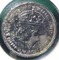 British Colony Hong-Kong, 1939H - Five Cents - Nickel - KM # 22