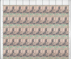 "MEX1981  ""GABINO BARREDA"" SHEET OF 50 SC#1228  CV15+(A36)"