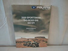 2009 Polaris Sportsman Big Boss 6X6 800 EFI Service Manual OEM #9922030