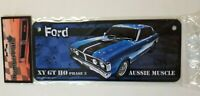 Ford - Ford XY GT HO Phase 3 Aussie Muscle Tin Number Plate 270mm x 110mm NEW
