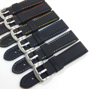 High Quality For TAG HEUER F1 Silicone Rubber Watch Strap 20mm 22mm Lug band