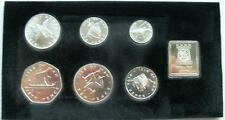 Isle of Man 1978 Mint Pack Set of 7 Silver Coins