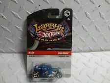 Hot Wheels Larry's Garage #19 Satin Blue Bone Shaker w/Real Riders