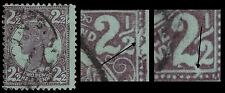 "QUEENSLAND 116i (SG238) - Victoria ""1899 Brown Purple"" (pf33069) Print Flaws"