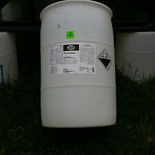 55 gallon drum white HDPE plastic barrel/drum. Used. Buyer pickup only.