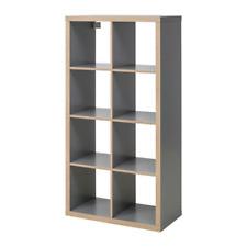 Ikea Kallax 2 x 4 Shelf Unit Bookcase, Gray, Wood Effect , 403.469.24 - New