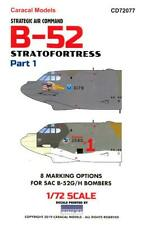 Caracal Decals 1/72 Boeing B-52 Stratofortress Strategic Air Command Part 1