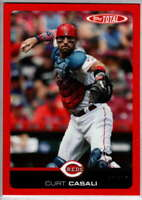 Curt Casali 2019 Topps Total Red #540 /10