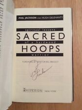 SIGNED by Phil Jackson - Sacred Hoops Spiritual Lessons of a Hardwood Warrior HC