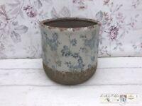 Blumentopf Vase Übertopf Topf Shabby Vintage Garten