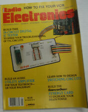 Radio Electronics Magazine Circuit Digital IC Tester September 1988 FAL 062315R