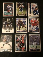 Lot Of 50 New England Football Cards Plus An Extra 5 Randy Moss Cards