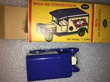 "Matchbox 5th MICA Convention 1921 Model ""T"" Ford #4638 scale 1:52 from 1990"