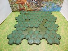 93 Hexes of Heroscape Swamp and Swamp Water Terrain Tiles