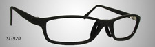 SAFETY FRAME Hudson SL-920 Eyeglasses Frames Black 58-16-150 NEW 0550