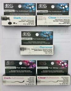 Ardell LashGrip False Eyelash Adhesive Glue CLEAR or DARK - for Strip Lashes