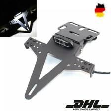 LED-Licht Motorrad Kennzeichenhalter Nummernschildhalter Universal Ca.600g DHL