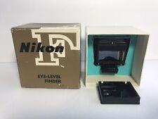 Vintage Nikon Eye Level Finder for Nikon F Camera In Box - Excellent