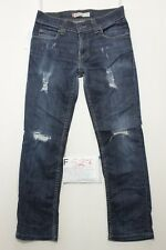 Levi's 511 Slim jeans con rotture usato (Cod.F527) Tg.46 W32 L30 vintage custom