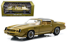 Greenlight 1/18 1981 Chevy Camaro Z28 T-Topps Gold Diecast Car Model 12907