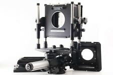 �Exc+5】 Plaubel 4x5 Ps6 Large Format Film Camera w/ Fidelity Cut Film from Japan