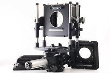 【EXC+5】 Plaubel 4x5 PS6 Large Format Film Camera w/ Fidelity Cut Film from JAPAN