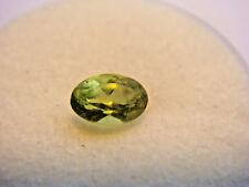 Peridot Oval Cut Gemstone 6 mm x 4 mm 0.55 Carat Natural Gem