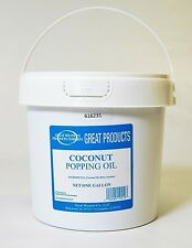 Popcorn Machine supplies Coconut Oil for Popcorn - one gallon